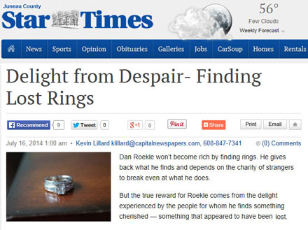 Lost Ring in the News