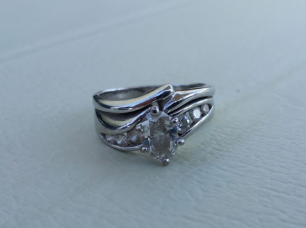 lost ring golf course - Lost Wedding Ring